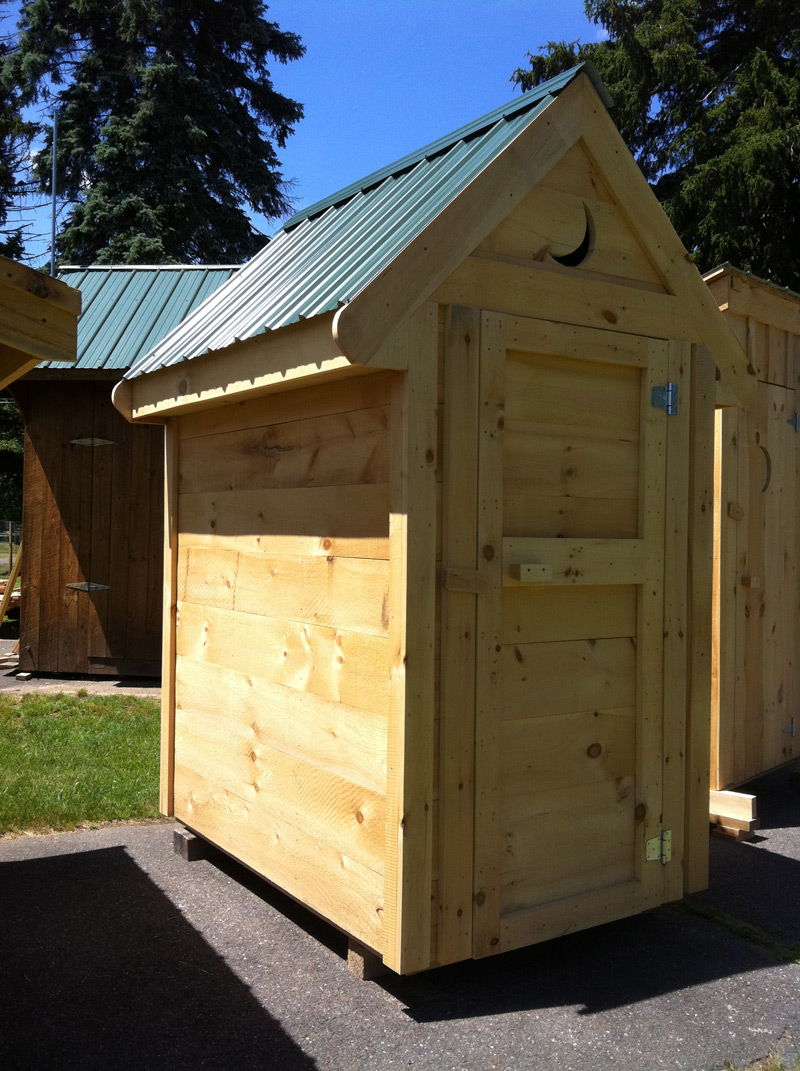 4 x 6 storage shed outhouse