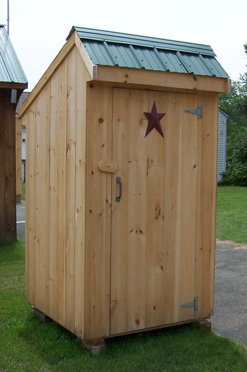 Photo gallery of brimfield shed handcrafted outhouses for Outhouse pictures