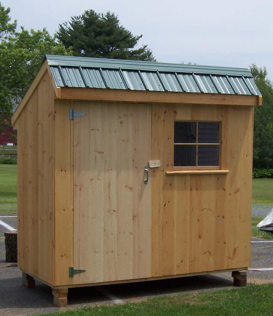 4 x 8 salt box shed brimfield shed