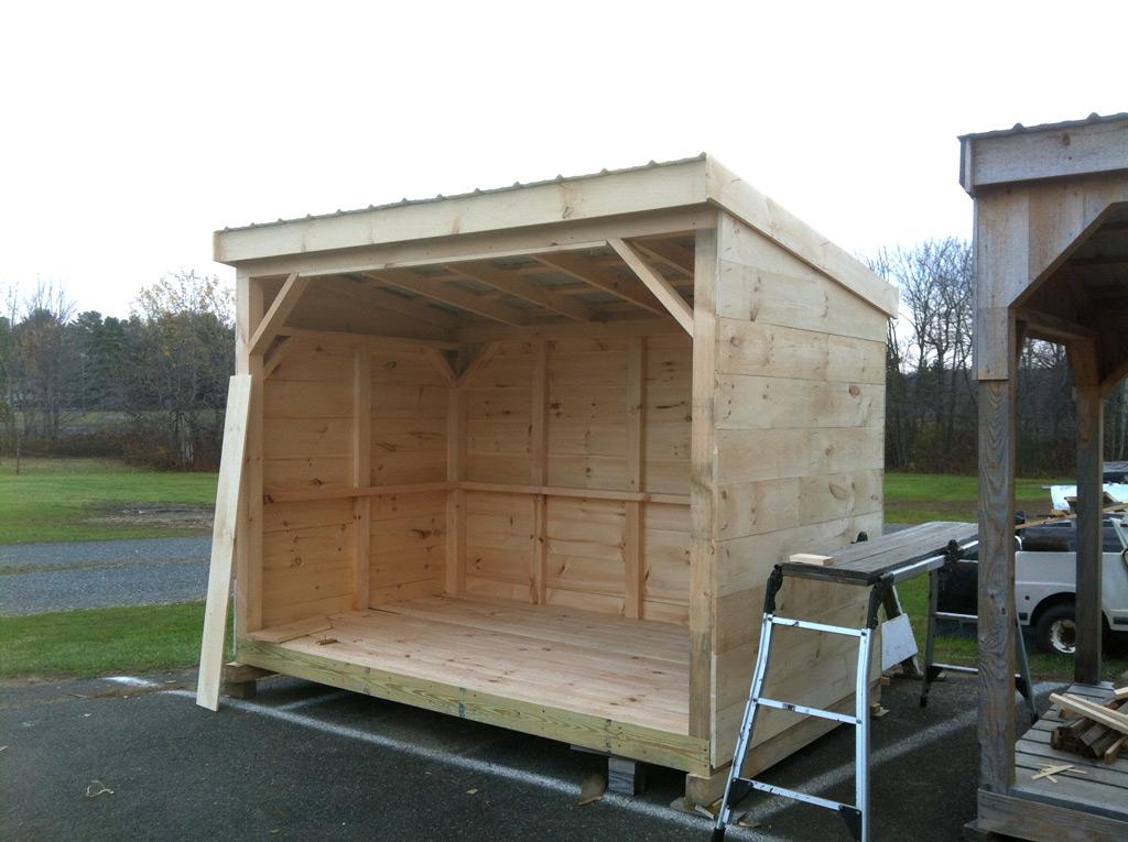 6 X 10 Wood Storage Brimfield Shed